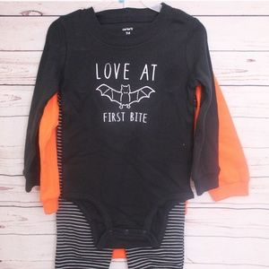 3 pc baby outfit Halloween size 24 months NWT